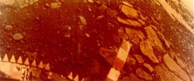 Изображение поверхности Венеры, переданное АМС «Венера-13»